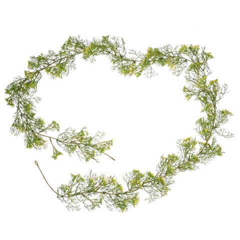 ELDERFLOWER GARLAND - YELLOW