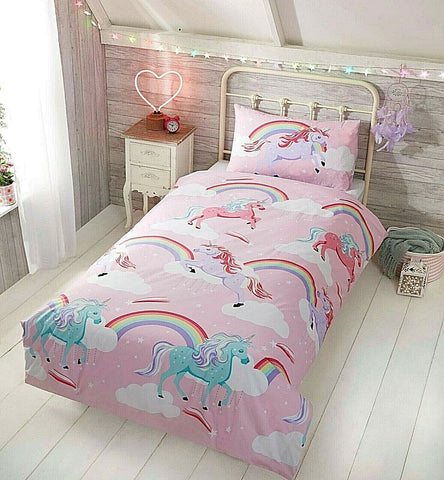 MY LITTLE UNICORN SINGLE + 1 PILLOWCASE