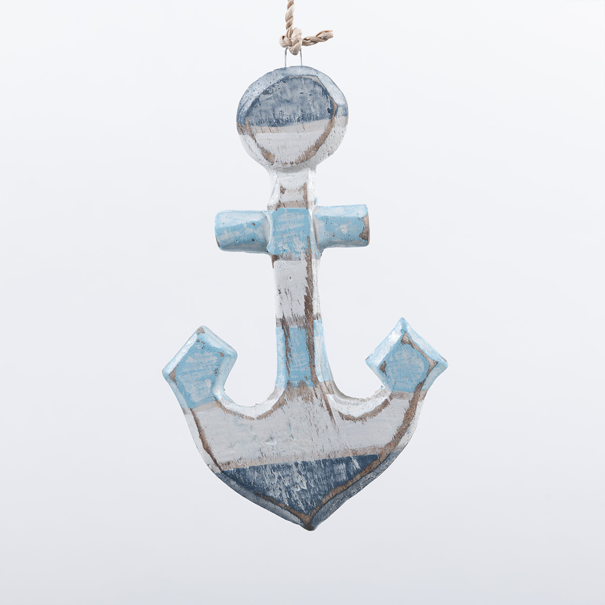 3 X BLUE/WHITE ANCHOR HANGERS
