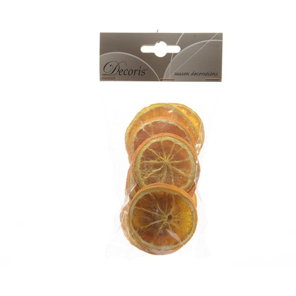 ORANGE SLICES DRIED X 12