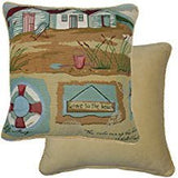 GONE TO THE BEACH CUSHION COVER