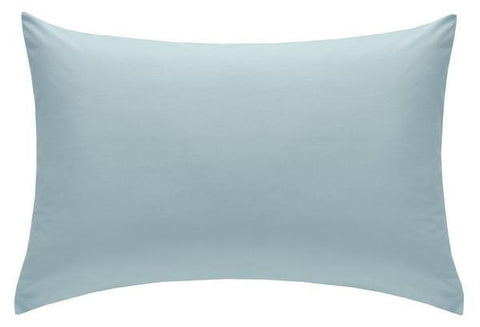 PILLOWCASE PAIR DUCK EGG BLUE