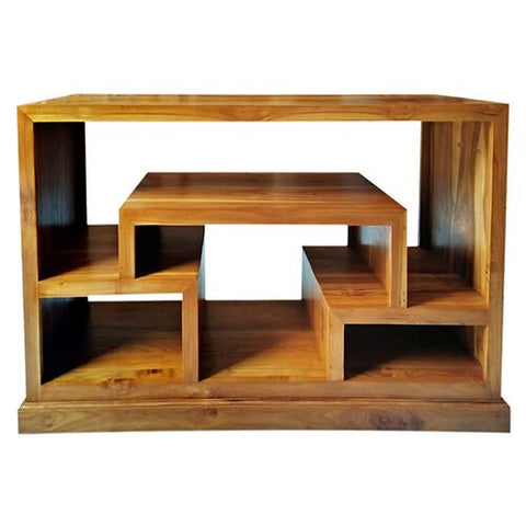 BOOKCASE SMALL MODI TEAK