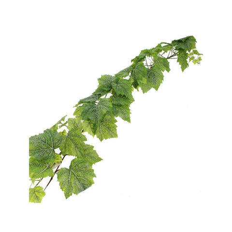 GRAPE LEAF GARLAND GREEN