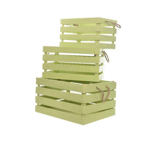 GREEN CRATE LARGE