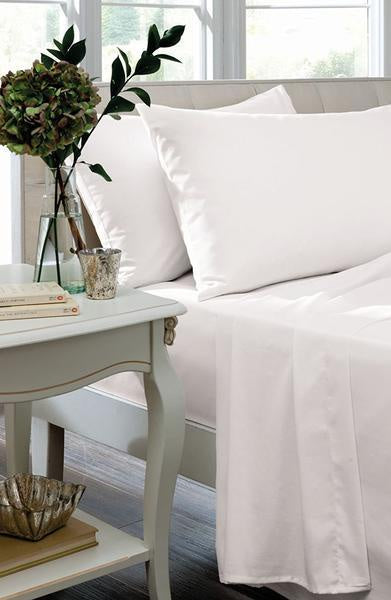SINGLE FLAT SHEET - WHITE