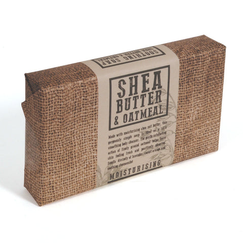 SHEA BUTTER AND OATMEAL SOAP