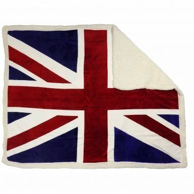 UNION JACK THROW 130X160CMS
