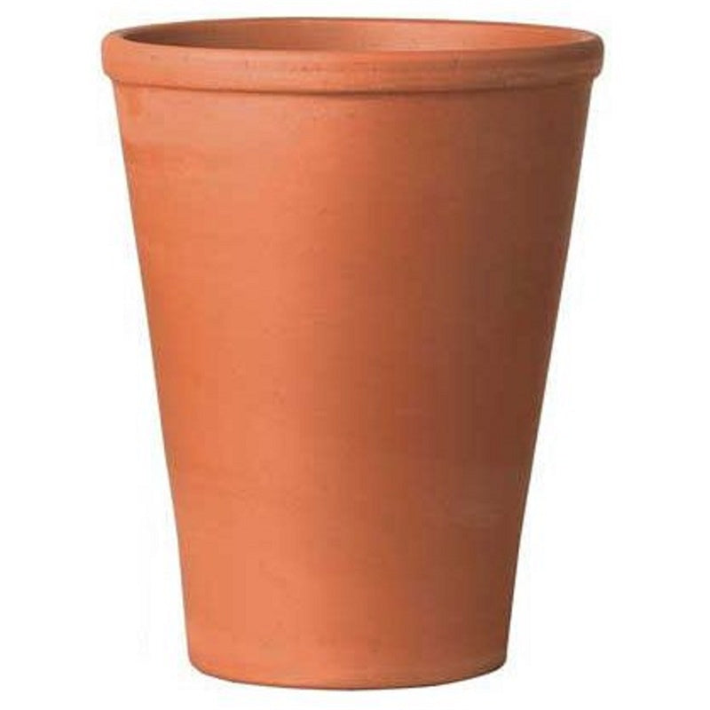 TERRACOTTA LONG TOM POT SMALL