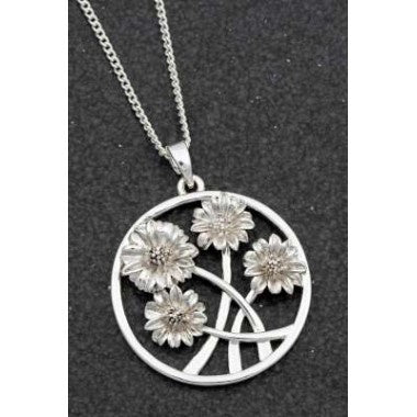 204750 - EQ BOTANICAL GERBERA NECKLACE