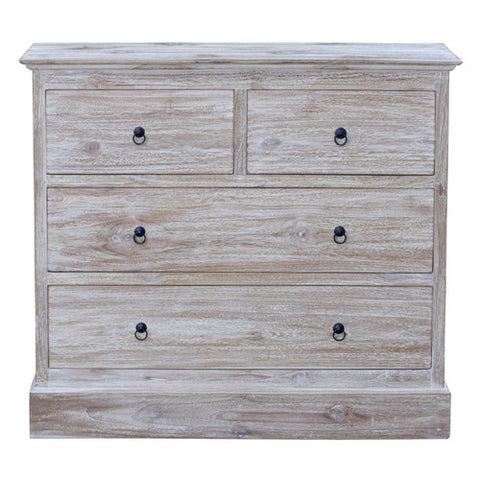 RWW 4 DRAWER BOX LEG CABINET