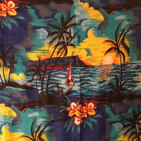 BLUE DESERT ISLAND - SARONG WITH BUCKLE