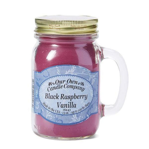 LARGE MASON BLACK RASPBERRY VANILLA