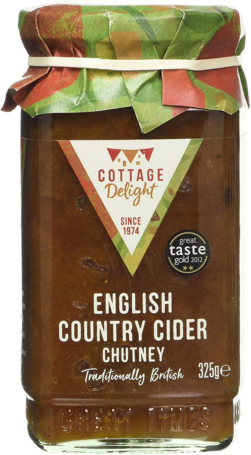 ENGLISH COUNTRY CIDER CHUTNEY 325G