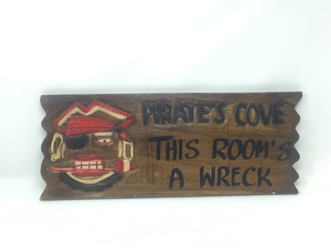 PIRATES SIGN 50CM
