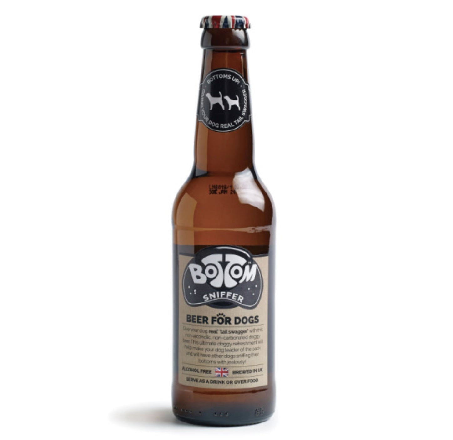 WOOF & BREW BOTTOM SNIFFER BEER 330ML
