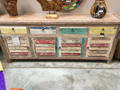 BWD 4 DOOR 4 DRAWER W/W CABINET
