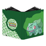 POKEMON ULTRA PRO - 9 POCKET PRO BINDER - BULBASAUR