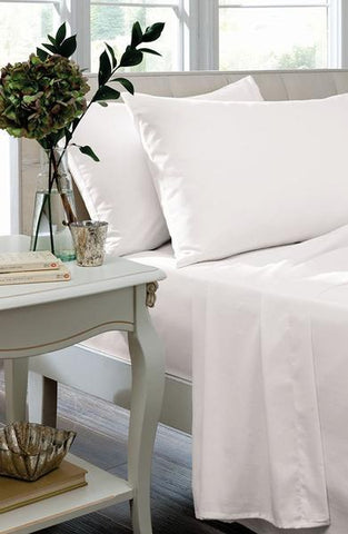 SUPER KING FLAT SHEET - WHITE