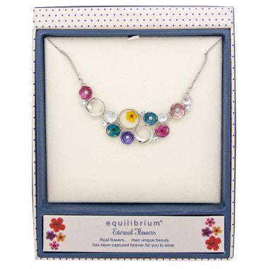 294601 ETERNAL FLOWERS CLUSTER NECKLACE