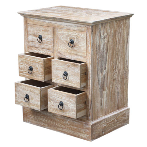 RWW 6 SMALL DRAWER CABINET WAS £160.00
