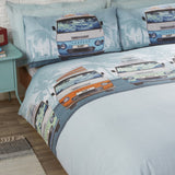 CAMPERVAN KING SIZE + 2 PILLOWCASES