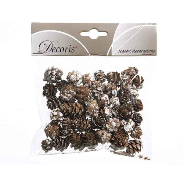 SMALL WHITE CONES 45GRMS