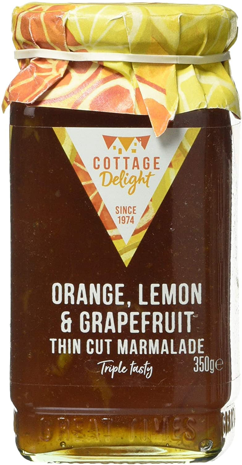 ORANGE, LEMON AND GRAPEFRUIT THIN CUT MARMALADE 350G
