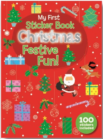 STICKER BOOK CHRISTMAS FESTIVE FUN