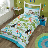 RAINFOREST KIDS DUVET + 1 PILLOWCASE