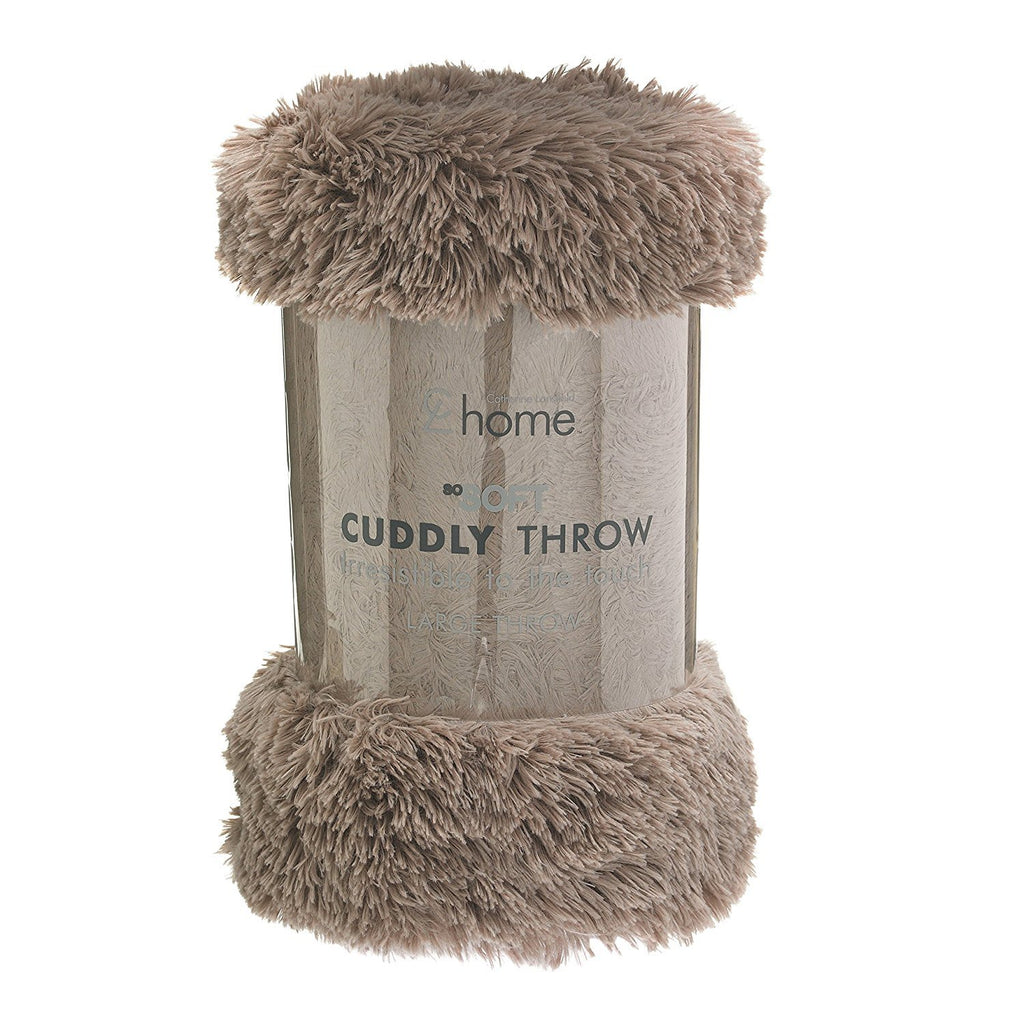 CUDDLY THROW NATURAL 150X200