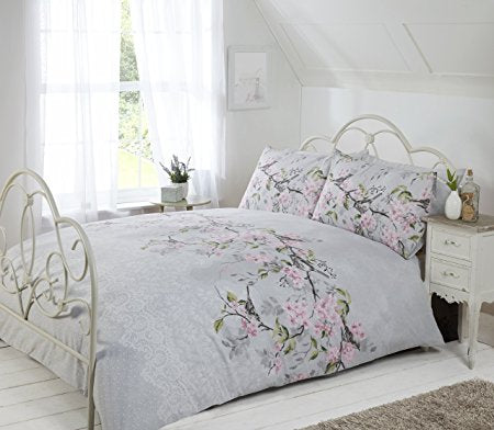ELOISE GREY SINGLE + 1 PILLOWCASE