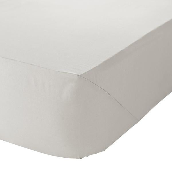 SINGLE FITTED SHEET - CREAM