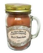 LARGE MASON JAR CANDLE HOT CHOCOLATE