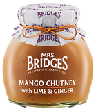 MANGO CHUTNEY WITH LIME + GINGER