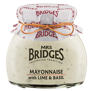 MAYONNAISE WITH LIME + BASIL