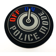 Police Mode Rubberpatch - Polizeimemesshop
