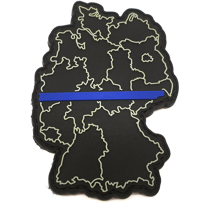 Thin Blue Line Deutschland Rubber Patch