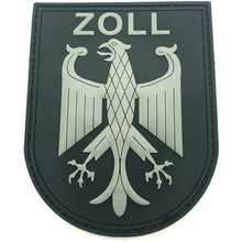Zoll Black Ops Rubberpatch - Polizeimemesshop