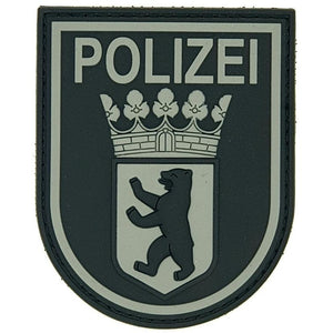 "Polizei Berlin ""Black Ops"" Patch - Polizeimemesshop"