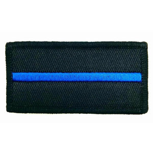 Thin Blue Line Textilpatch - Polizeimemesshop