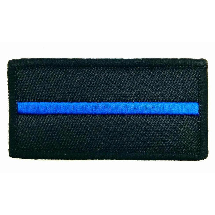 Thin Blue Line Textilpatch