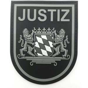 Justiz Bayern Black Ops Patch - Polizeimemesshop