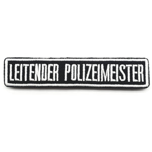 Namensschilder 2.0 Textilpatches - Polizeimemesshop
