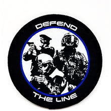Defend The Line  Textil Patch