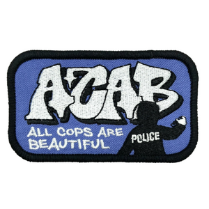 ACAB All Cops Are Beautiful Textil Patch