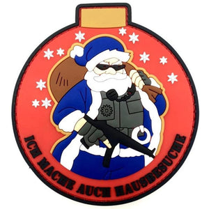 Tactical Santa Patch - Polizeimemesshop