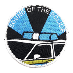 Sound of The Police Textilpatch - Polizeimemesshop