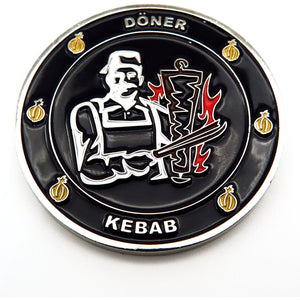 Döner / Burger Fun Coin - Polizeimemesshop
