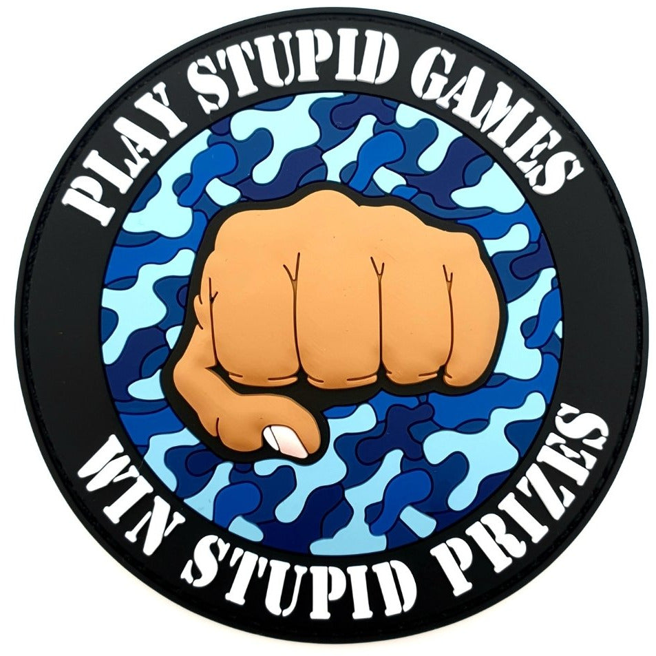 Play Stupid Games Win Stupid Prizes Rubberpatch - Polizeimemesshop